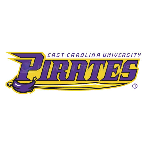 East Carolina Pirates Iron-on Stickers (Heat Transfers)NO.4315